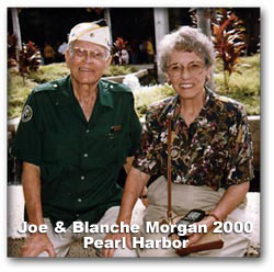 Joe and Blanche Morgan 2000 Pearl Harbor